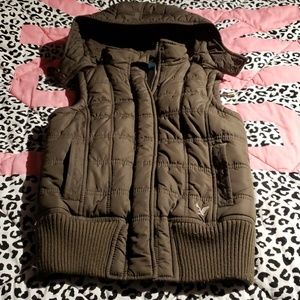 American Eagle - Quilted Vest szXS